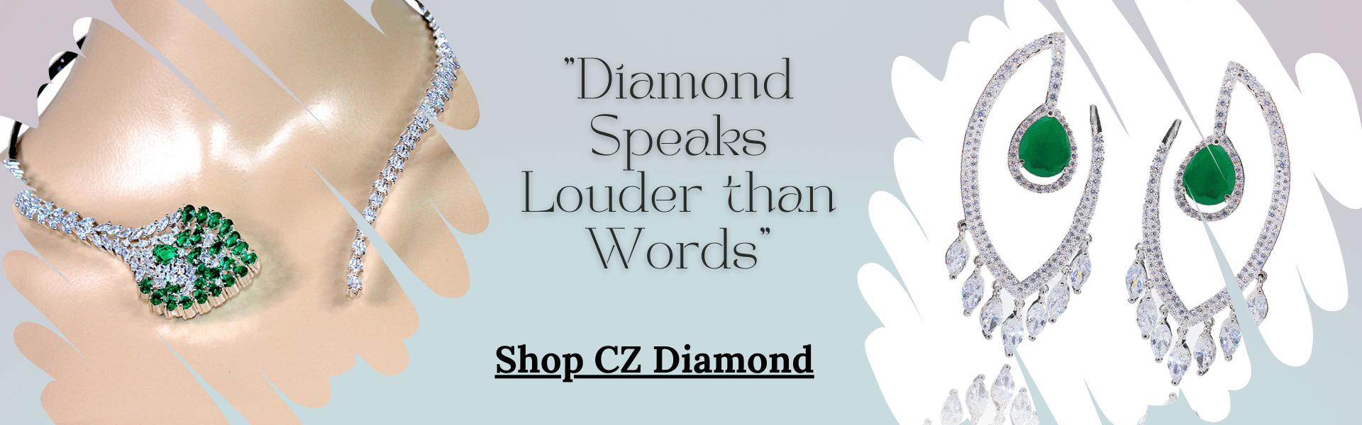 CZ Diamond Banner